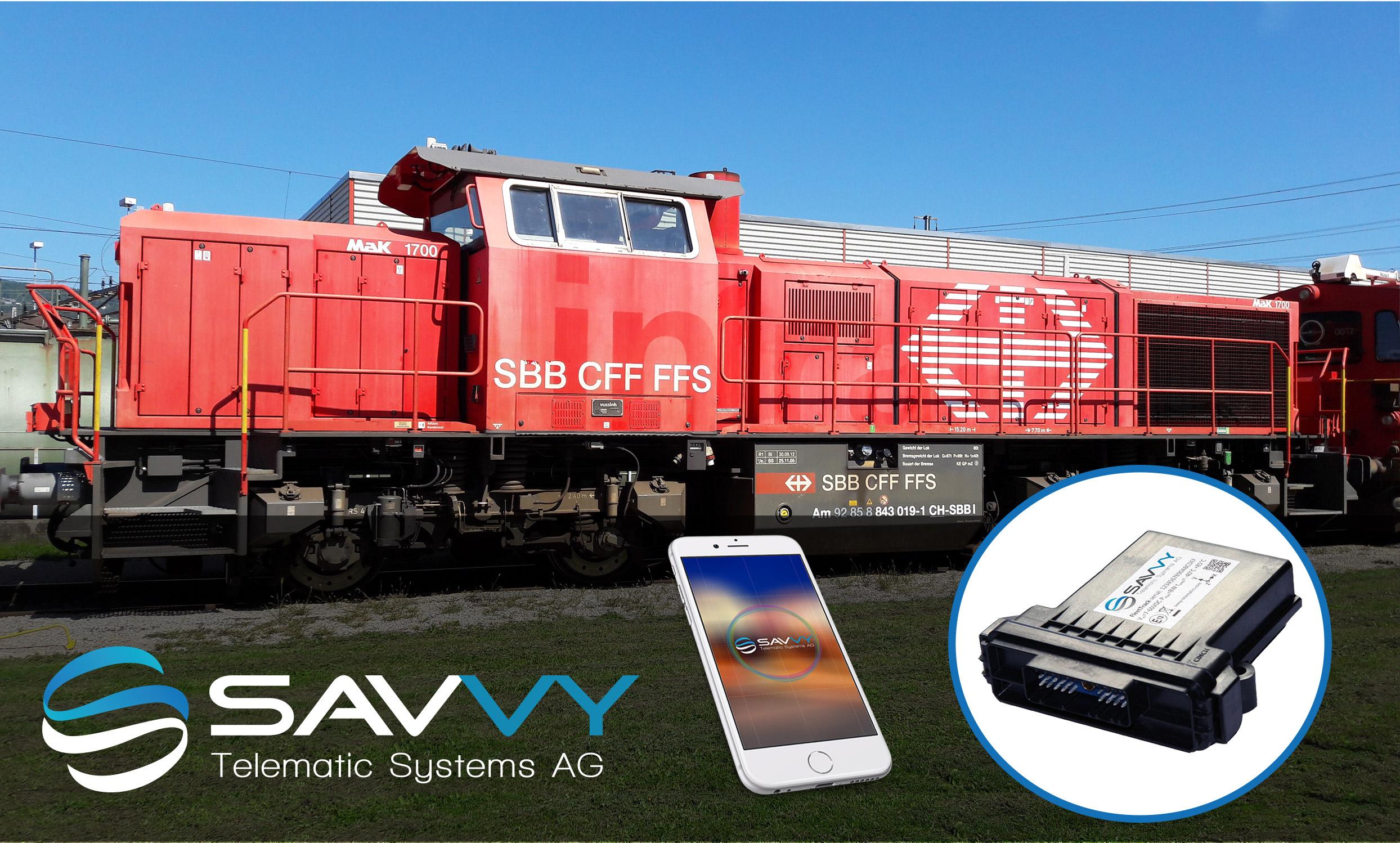 SAVVY Telematic Systems AG und SBB
