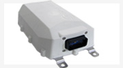 Optimized for quick installation on rail cars and containers, does not need any external antennae