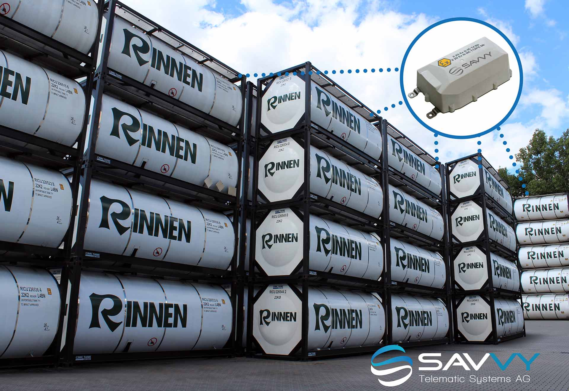 SAVVY Telematic Systems AG_RINNEN